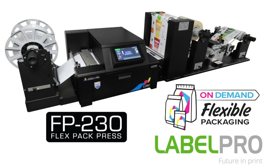 Afinia FP-230 Flexibele Verpakkingsfolie Printer